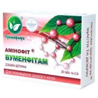 Аминофит ВУМЕНФИТАМ для женской эндокринной и половой сферы | Примафлора