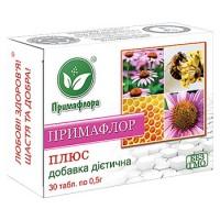 ПРИМАФЛОР-ПЛЮС | Цветочная пыльца, эхинацея, элеутерококк, левзея, солодка